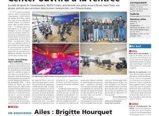 Ouverture d'une nouvelle salle MyFit Center à Revel : un article de presse de «La Voix du Midi Lauragais»