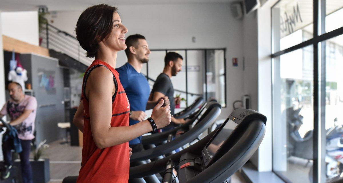 Clud de sport MyFit Center de Castelnaudary : tapis de course