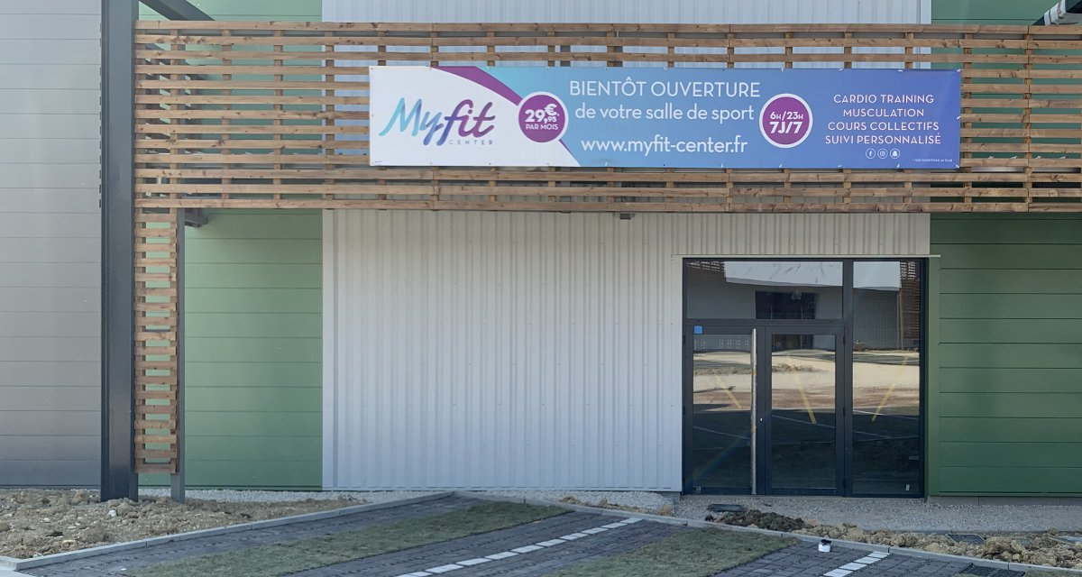 Ouverture du club de sport MyFit Center à Revel
