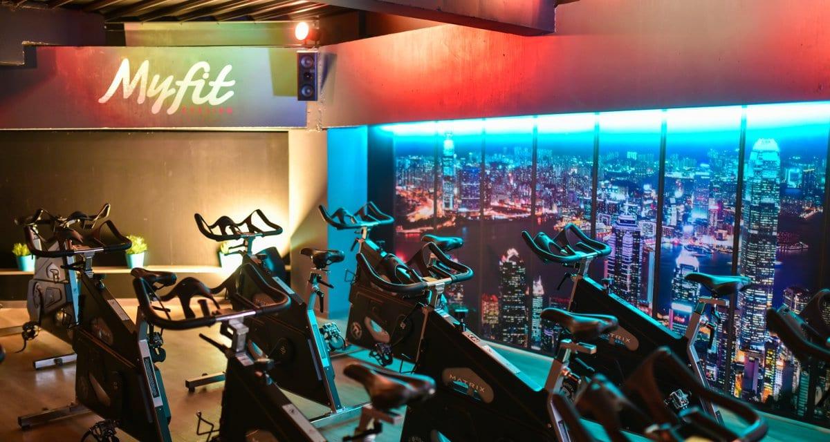 Espace Studio cycling à la salle de sport MyFit Center Castelnaudary